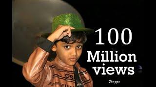 Zing zing Zingat   Sangeet  Amit Phulore (Age 5 Year)  DJ songs