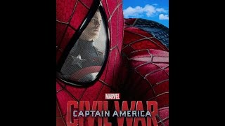 Captain America Civil War Trailer with Spider Man(WITH ANDREW GARFIELD)