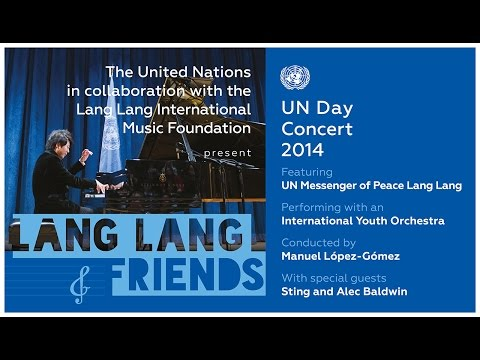 Live - UN Day Concert 2014: Lang Lang & Friends