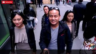 Bhutanese Actress Tandin Bidha first day in New York City || Video Blog || 4K