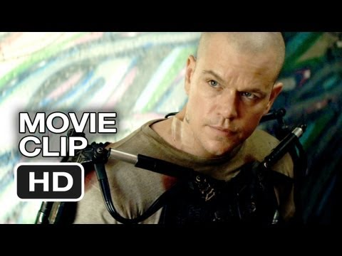 Elysium Movie CLIP – He's Awake (2013) – Matt Damon Sci-Fi Movie HD