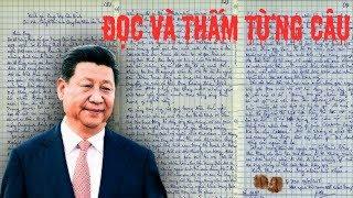 Nữ Sinh Việt Nam Gửi Tâm Thư Đến Tập Cận Bình ,đọc mà nghẹn ngào