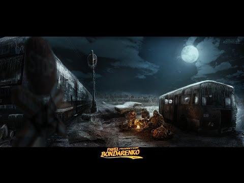 Есть ли жизнь за мкадом? (вселенная метро 2033) | Photoshop by Pavel Bondarenko