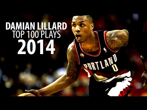 Damian Lillard - Top 100 Plays Of 2014 [Sophomore Year]