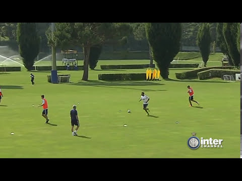 ALLENAMENTO INTER REAL AUDIO 06 07 2014