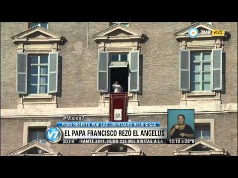 Visión 7 - El Papa Francisco rezó el Angelus