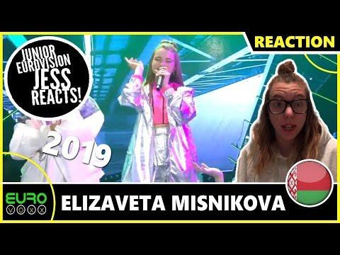 BELARUS JUNIOR EUROVISION 2019 REACTION: Elizaveta Misnikova - Pepelnyy | JESS REACTS!