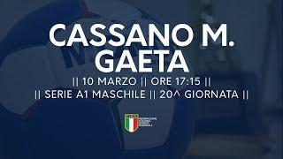 Serie A1M [20^]: Cassano Magnago - Gaeta 28-18