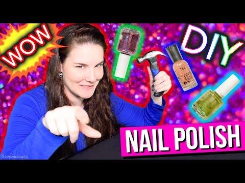 DIY Nail Polish   SUPER CHEAP SALON MANICURE!!!