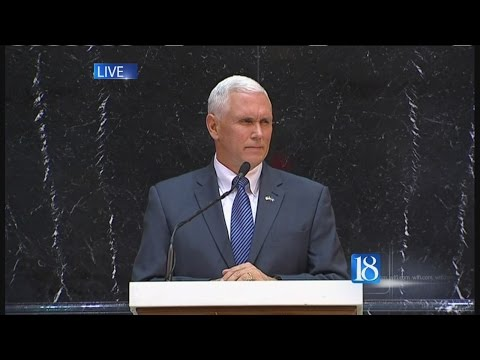 Governor Mike Pence's complete State of the State address