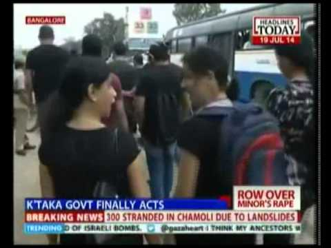 Bengaluru School Girl Rape Case Leads To More Protests video