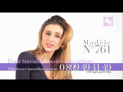 Book Video du Modèle n°761 - Emission Just 4 Beauty and Fashion sur la chaine Just 4 Talent