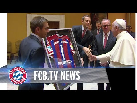 بنعطية يغيب عن حفل استقبال البابا للبايرن ميونيخ