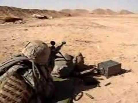 .50 cal Barrett M107 long range sniper rifle
