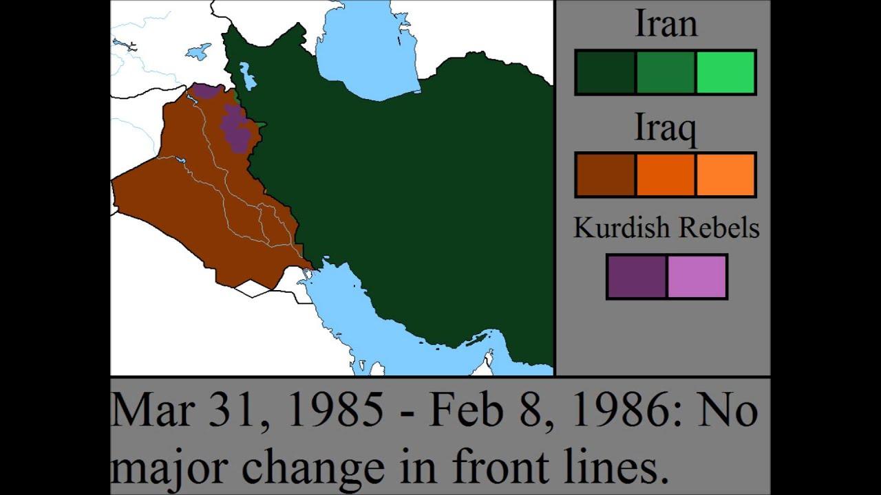 The Iran Iraq War Every Fortnight Youtube