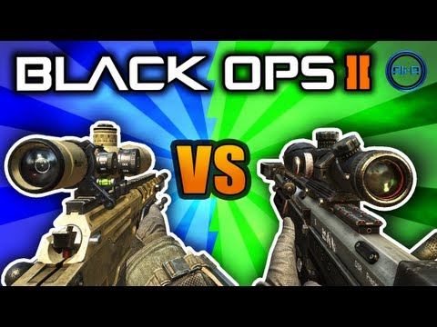 Black Ops 2 - DSR 50 vs Ballista Sniper! - Best Bolt Action Sniper! - (Call of Duty BO2 Multiplayer)