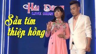 Sầu Tím Thiệp Hồng - NSƯT Hồng Liên & Châu Tuấn | Bolero Song Ca 2019
