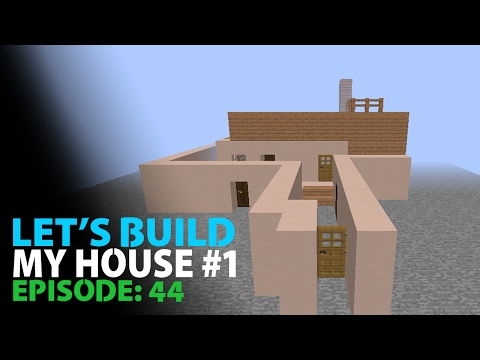 Minecraft Lets Build #43 | - My House - | #Pilipino #1