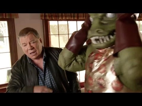 Star Trek The Video Game Funny Trailer with William Shatner !