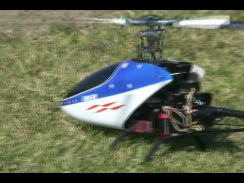 Ninja 500 3D Radio Control Helicopter!  Flight 2!