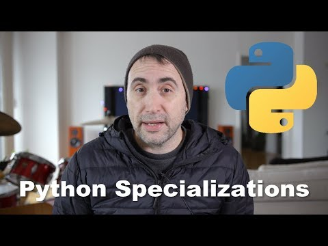 What are the Python Specializations?
