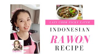 Indonesian EASIEST Rawon Soup Recipe