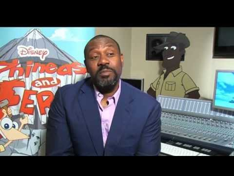 Phineas and Ferb - Lenny Henry Interview