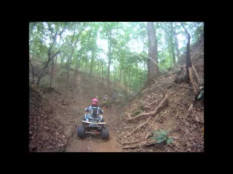 Mideast Racing RD.12 9/30/2012  Pea Ridge C25+ Quads 1st lap + twist throttle mishaps!
