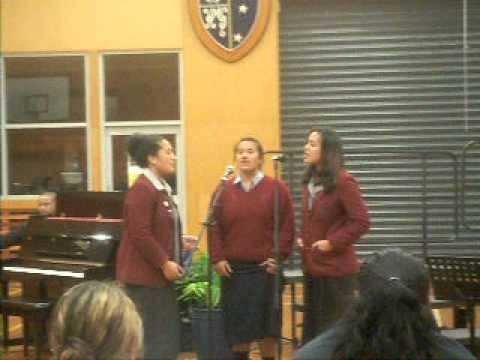 Mercy, Nancy &tusi: He Touched Me (jimmy Swaggart) [mcauley High School Music Concert 2011] video
