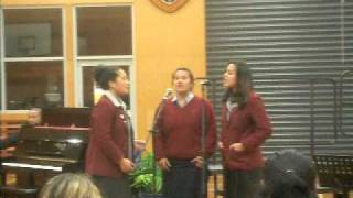 Mercy, Nancy &Tusi: He Touched Me (Jimmy Swaggart) [McAuley High School Music Concert 2011]