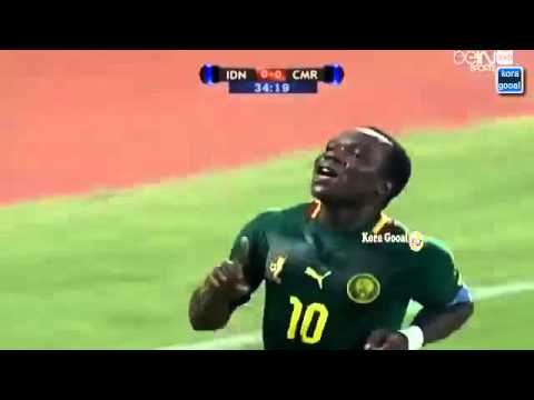 Indonesia vs Cameroon 0 1 Goal full but complet 25 03 2015 HD