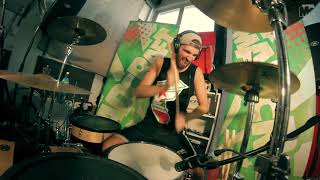 "Drum Cover ""Blink-182 - Online Songs"" by Otto from MadCraft"