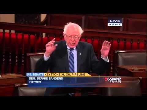 Bernie Sanders: Keystone XL and Climate Change Denial (1/21/2015)