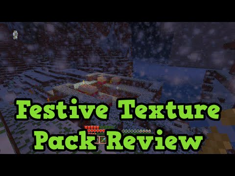 Minecraft Xbox 360 + PS3: Festive Texture Pack Review