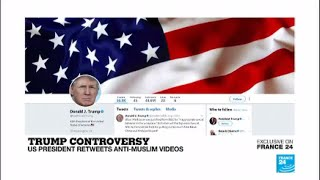 President Donald Trump Retweets Britain First Jayda Fransen (((media))) Firestorm