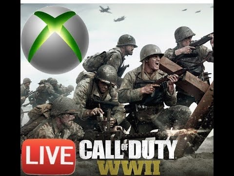 Call Of Duty World War II Beta! Xbox Live Stream Road To Max Rep!
