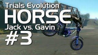 Trials Evolution - Achievement HORSE #3 (Jack vs. Gavin)