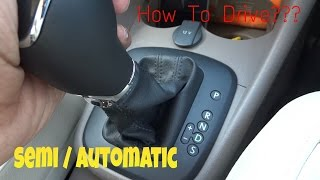 How To Drive An Automatic Car!