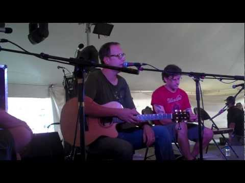 Chuck Garvey acoustic (complete set w/ interview) w/ Vinnie Amico&Brendan Bayliss Summer Camp '12