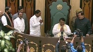 Telangana Assembly Sessions 2019 | 2nd Day | స్పీకర్గా బాధ్యతలు చేపట్టిన పోచారం.. - Watch Exclusive