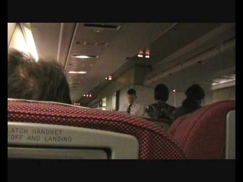 My QANTAS AIRWAYS experience