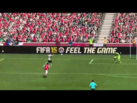Angel Di Maria volley golazo ft. stunning Ander Herrera assist on FIFA 15