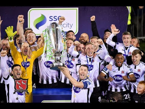 DUNDALK FC LIFT THE SSE AIRTRICITY LEAGUE TROPHY | Champions 2019