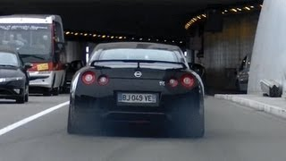 Nissan GT-R35 MONSTAKA GT800 Acceleration Sound !!