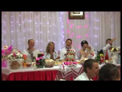 Весільний гумор. Коломийки на весіллі. Протистояння дядька і музикантів