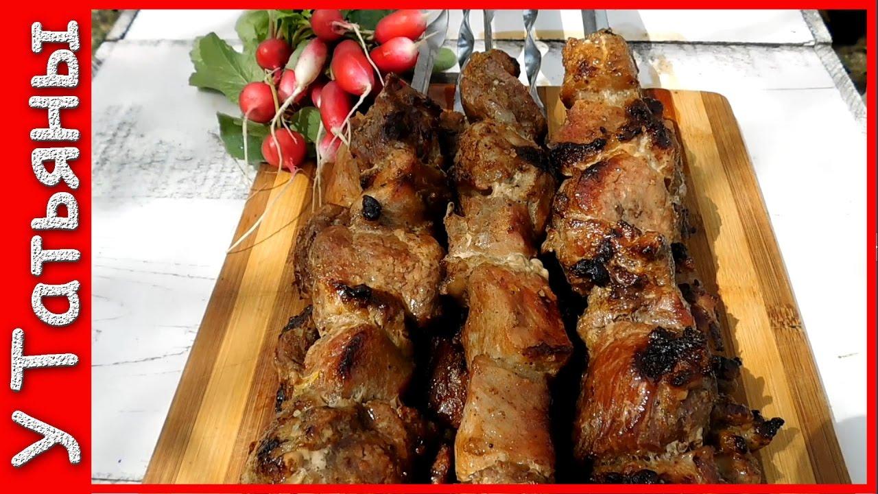 Как самому сделать шашлык из свинины