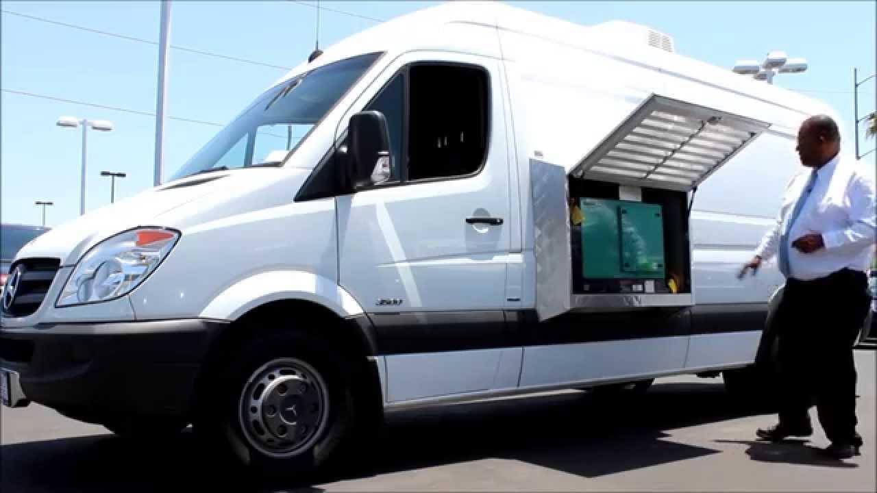 Ice Cream Trucks For Sale >> Mercedes-Benz Shaved Ice & Ice Cream Truck - YouTube
