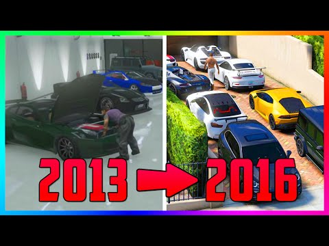 Comparing GTA Online In 2013 VS 2016 & How It's Changed Since The Original Gameplay Trailer! (GTA 5)