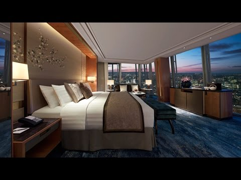 London luxury hotel room tour - Shangri-La at The Shard with crazy views