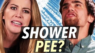 Is It Okay To Pee In The Shower? • Debatable